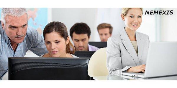 3 hodiny počítačového poradenství u vás doma nebo v kanceláři
