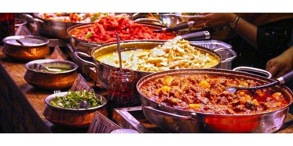 Otevřený voucher na jídlo v Indian Happy Tandoor