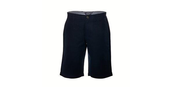 Pánské jednobarevné kraťasy značky Bendorff v tmavě modré barvě