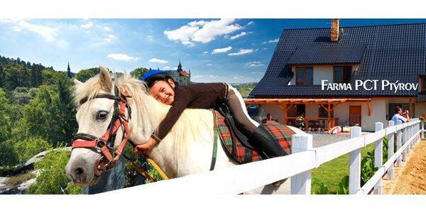 3 nebo 5denní pobyt pro dva s jízdou na koni v Českém Ráji
