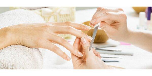 Japonská manikúra P-SHINE a výživná maska na ruce