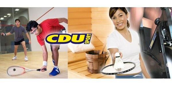 199 Kč za permanentku do CDU Sport v hodnotě 400 Kč!