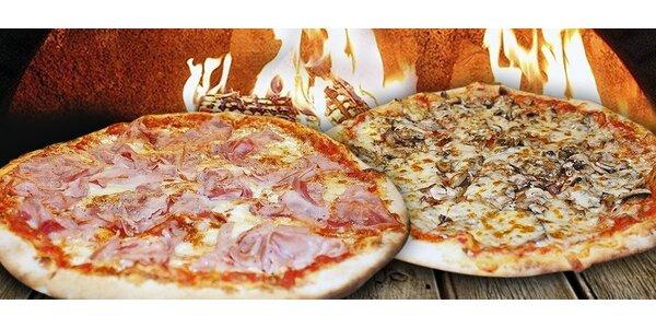 2 italské pizzy v pondělí odpoledne