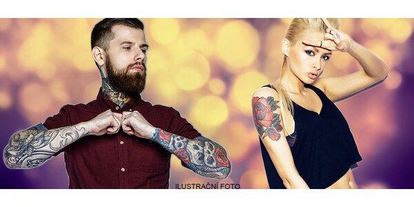 Nové tetování ve velikosti 10x10 cm