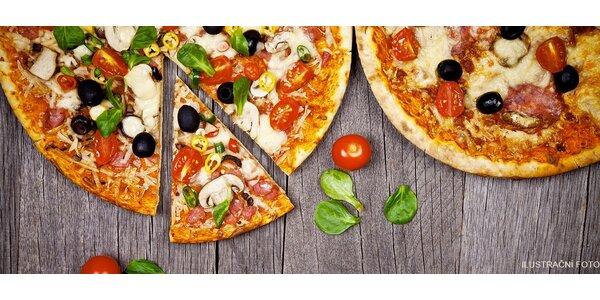 2× pizza dle výběru v restauraci Ducatti