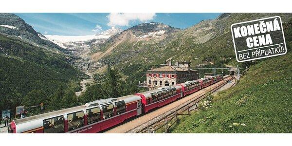 Jízda vyhlídkovým vlakem Bernina Express s možností ubytování v Davosu