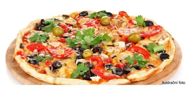 Skvělá pizza v restauraci Lešná