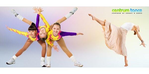 Kroužky pro děti: sport, tanec, akrobacie