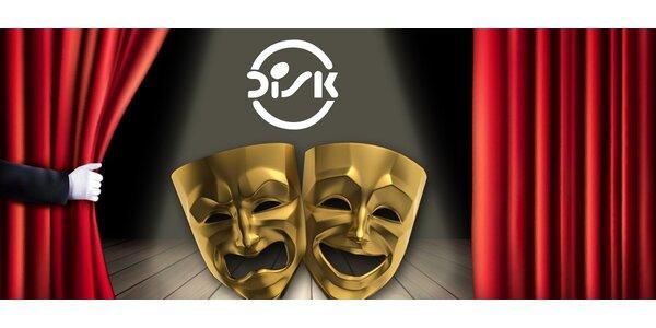 40% sleva na vstupenky do divadla DISK
