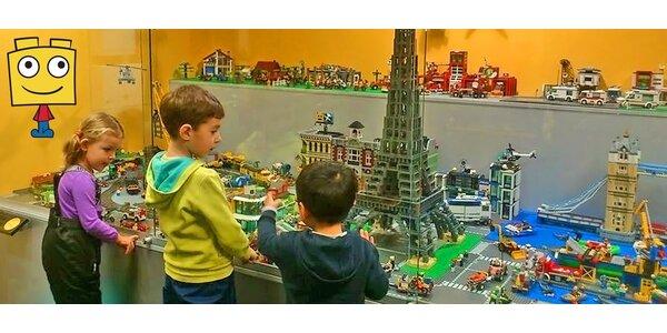 Vstupenky do muzea Lega pro děti i dospělé