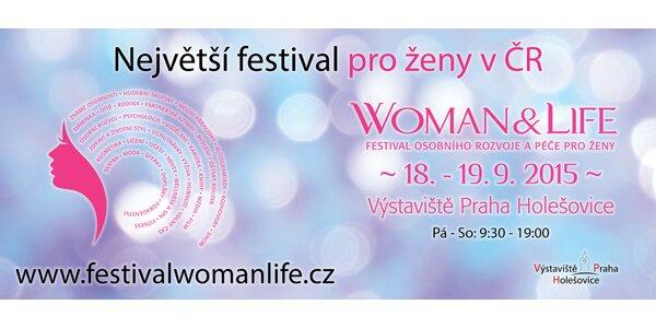 Dvoudenní vstupenka na festival Woman & Life