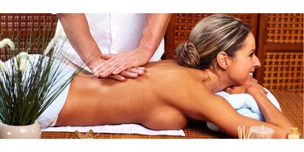 Příjemná masáž celého těla