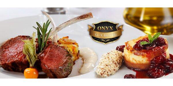 Luxusní degustační menu pro dva o 4 chodech