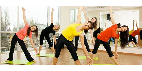 3 taneční či fitness lekce dle vašeho výběru