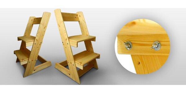 Rostoucí židle pro naše nejmenší a školáky