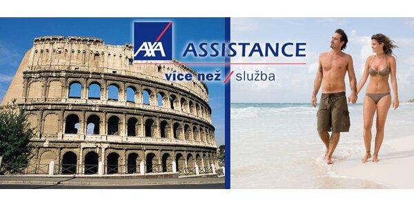 15 dní cestovního pojištění AXA ASSISTANCE