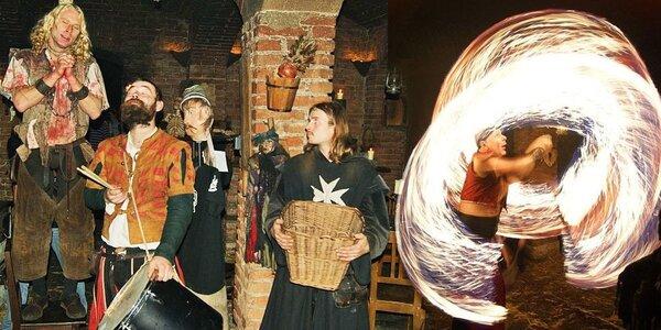 Středověká noc a středověký den v Dětenicích