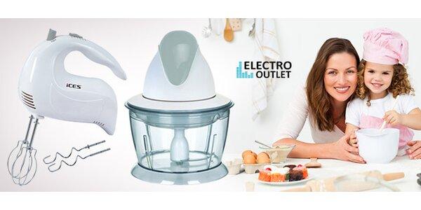 Ruční mixér či elektrický kráječ. Usnadní vaření!