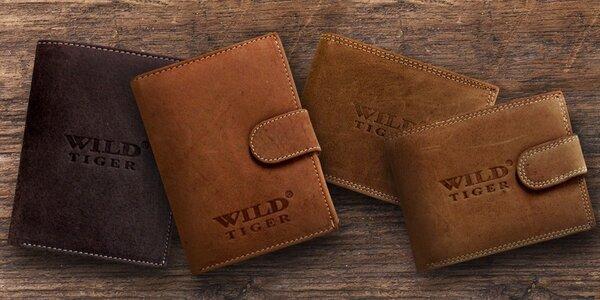 Pánské peněženky z kvalitní hovězí kůže