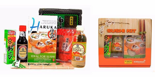 Set na přípravu sushi v dárkové krabici