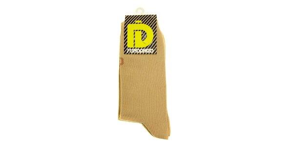 Pánské béžové ponožky Fundango - 6 párů