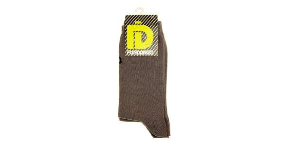 Pánské šedé ponožky Fundango - 6 párů