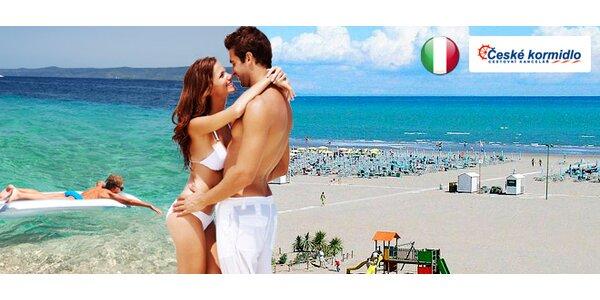 Na celý den k moři do Itálie
