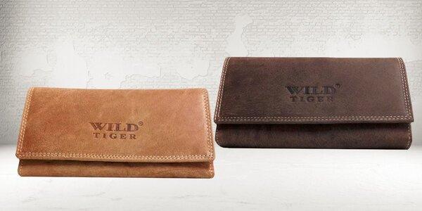 Dámská kožená peněženka Wild Tiger