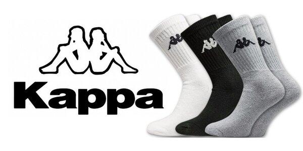 Pánské sportovní ponožky Kappa (3 páry)