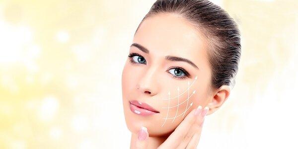 Kosmetické ošetření s dermabrazí a k. hyaluronovou
