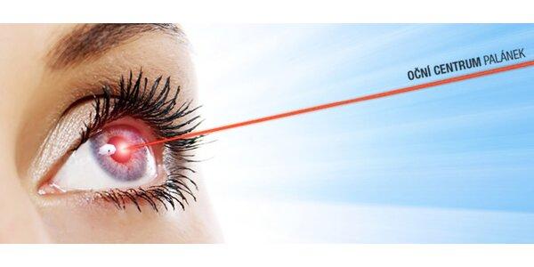 Operace oka špičkovým švýcarským laserem