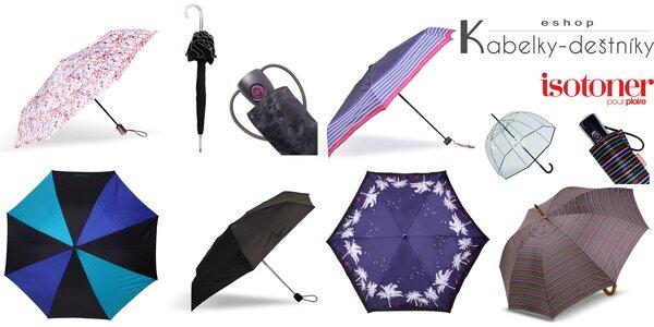Kvalitní francouzské značkové deštníky