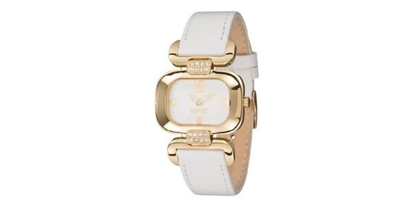 Dámské hodinky Esprit Charming Dear Gold White
