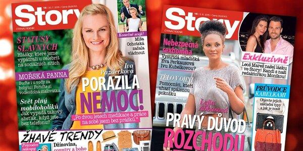 Buďte v obraze: Předplatné časopisu Story