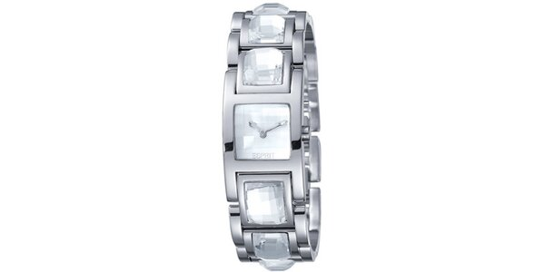 Dámské hodinky Esprit Rhinestone White