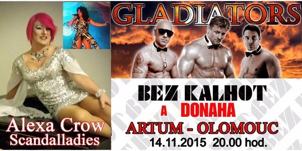 Bez kalhot a Donaha v Olomouci