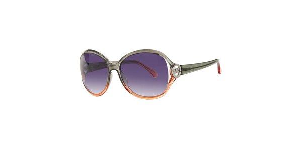 Dámské šedo-oranžové sluneční brýle Michael Kors
