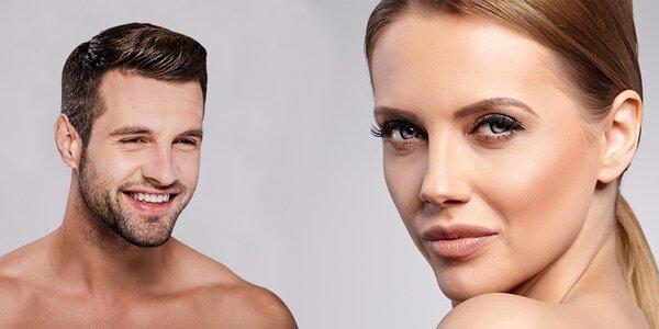 Kosmetické ošetření, úprava či prodlužování řas