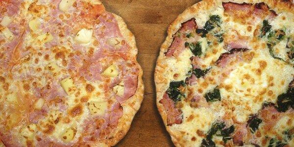 Zajděte na dvě pizzy
