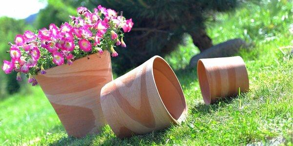 Mrazuvzdorné ručně vyráběné květináče Deroma z Itálie