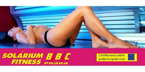 50 minut příjemného opalování v soláriích Fitness BBC jen za 299 Kč!