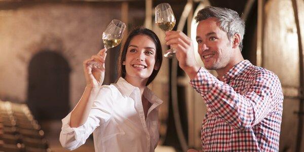 3denní vinařský pobyt pro 2 s degustací