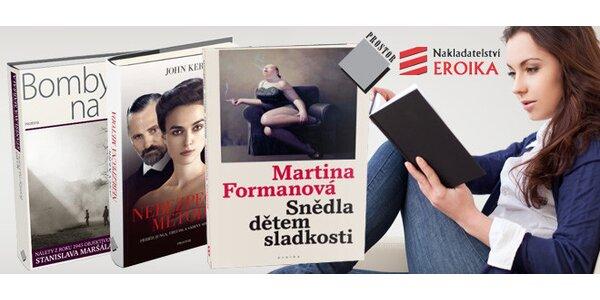 Vouchery na nákup knižních bestsellerů