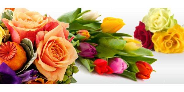 Voucher na květiny v hodnotě 200 Kč