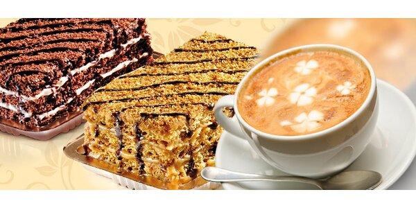 DVĚ kávy a DVĚ marlenky nebo menu pro děti
