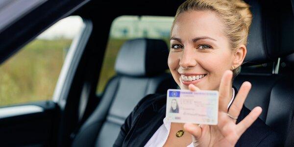 Řidičský průkaz skupiny B - rezervace
