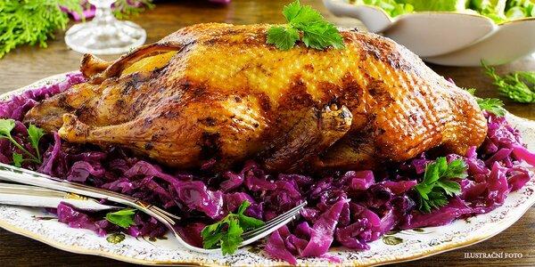 Dozlatova pečená kachnička pro 2–4 jedlíky