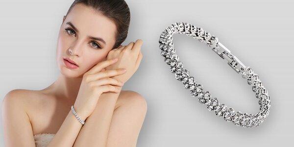 Luxusní náramek Swarovski Elements Ice Queen