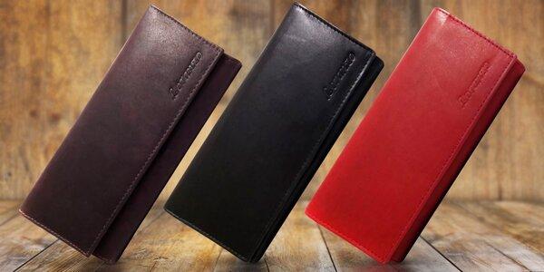 Kvalitní kožené peněženky pro ženy i dívky