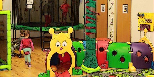 5 nebo 10 celodenních vstupů do dětské herny